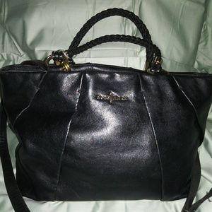 Cole Haan Black Leather Purse